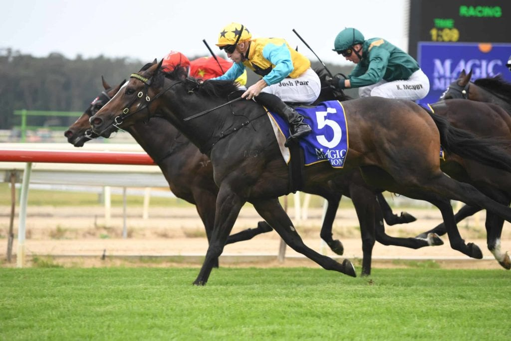 WATERHOUSE/BOTT CLAIM ANOTHER 2YO CLASSIC 8