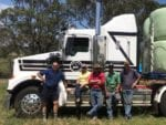Wyong RC and local trainers deliver hay to needy farmers 2